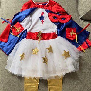 Pottery Barn Kids Amazing Girls Super Hero Costume